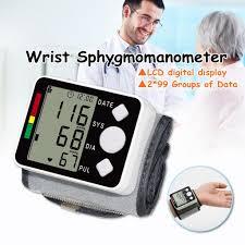 <b>Health</b> Care <b>Digital Lcd</b> Upper Arm Blood Pressure Monitor Heart ...