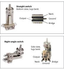 switchcraft 3 way toggle switch stewmac com switchcraft 3 way toggle switch installation and wiring instructions