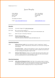 law student cv example ledger paper sample law cv by zcc46658