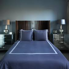 small blue bedroom with curved headboard blue small bedroom ideas