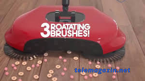 Автоматический веник для уборки Magic Sweeper - YouTube