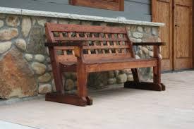 how to build rustic cedar bench plans pdf plans cedar bench plans