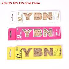 _1632060197 <b>YBN</b> Bicycle Chain <b>Ultralight 9</b> 10 11 Speed SLR ...