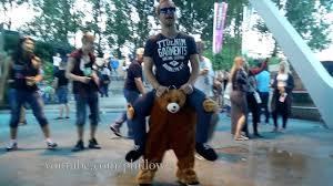 Teddy Bear carry <b>me</b> costume | dance video - YouTube