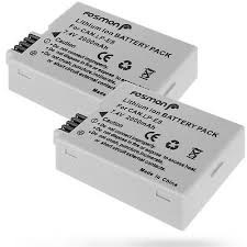 Fosmon <b>2x 2000mAh High Capacity</b> Replacement Battery Pack for ...