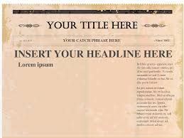 newspaper template powerpoint info newspaper template aplg planetariums org