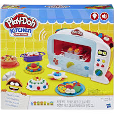 <b>Play</b>-<b>Doh Kitchen Creations</b> Magical Oven Food Set with 6 Cans of ...
