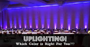 uplighting which color is right for you beautiful color table uplighting