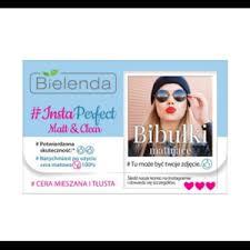 "<b>Матирующие салфетки</b> для лица Bielenda ""INSTA PERFECT ..."