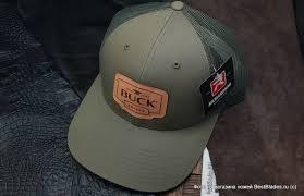 Купить <b>Бейсболка BUCK</b> B89139 <b>Buck Leather</b> Patch Cap + подарок!