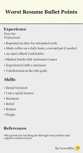how to make resume bullet points sample customer service resume how to make resume bullet points writing your resume bullet points vs paragraphs job worst resume