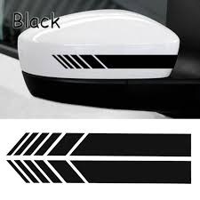 Auto <b>Car Accessories</b> Rear View Mirror Stickers Reflective Body ...