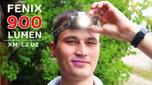 МОЩНЫЙ <b>НАЛОБНЫЙ ФОНАРЬ FENIX</b> HL55 XM L2 на 900 ...