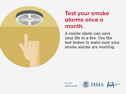 smoke alarm outreach materials facebook twitter