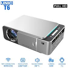 <b>UNIC T6</b> светодиодный <b>проектор</b> 3200LM 1080P Full HD HDMI ...