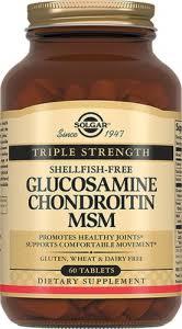 Solgar, <b>Глюкозамин хондроитин</b>, <b>МСМ</b>, 60 таблеток - купить ...