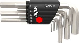 <b>Набор шестигранников Wiha Compact</b> Hex Wrench 9 шт