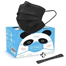 Black Face Mask for Kids, Childrens Face Mask Black ... - Amazon.com