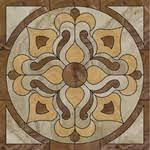 <b>Керамогранит Ceracasa Ducale Roseton</b> Nacar панно 116,8x116,8
