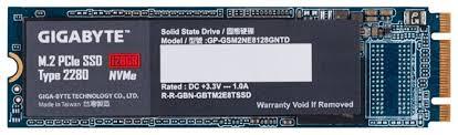 <b>Твердотельный накопитель</b> GIGABYTE <b>M</b>.<b>2</b> PCIe <b>SSD</b> 128GB (GP ...