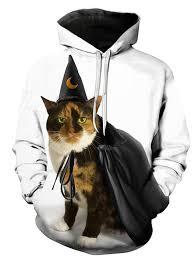 Halloween <b>Cute Pet Print</b> 3D <b>Men's</b> Hooded Hoodie Sale, Price ...