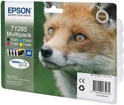 Комплект <b>картриджей Epson T1285 Multipack</b> (C13T12854012 ...