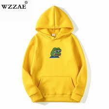 Sad tearing frog Print <b>Hoodies Men</b>/<b>Women Hooded</b> Sweatshirts ...