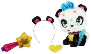 Купить <b>плюшевая панда Shimmer Stars</b>, с сумочкой, 20 см, цены в ...