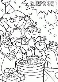 Small Picture Coloring Pages Birthday Party Coloring Home