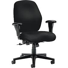 hon hon7823nt10t 7800 series fabric mid back office chair with adjustable arms black buy matrix mid office chair