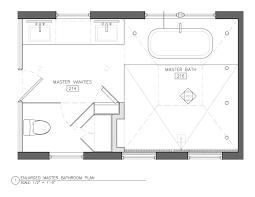 master bathroom floor plans easy
