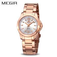 MEGIR Fashion Women Watches <b>Relogio Feminino Brand Luxury</b> ...