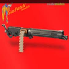 "WWI Vickers <b>11mm</b> ""Ballon Gun"" Machine Guns (<b>2pcs</b>, Resin ..."