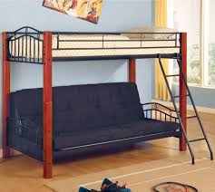 Loft Bed With Sofa Mattresses Twin Over Full Futon Bunk Bed Futon Bunk Beds With