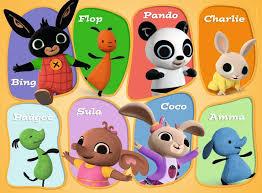 An image of the characters featured in <b>Bing</b>. | <b>Bing bunny</b>, <b>Bunny</b> ...