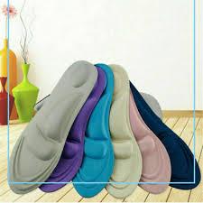 <b>1Pair 4D</b> Shoe Insoles Memory Foam Cushions High Heel Shoe ...