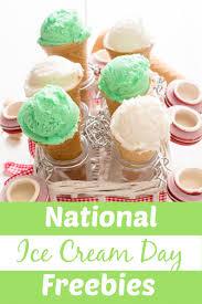 Get Free Ice Cream on National Ice Cream Day (7/21)