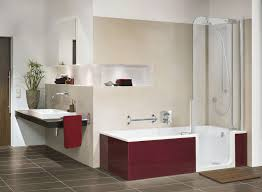 decoration interior bathroom jacuzzi shower combination