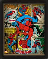 <b>3D Постер</b> Marvel Retro: Spider-Man - купить по цене 1399 руб в ...