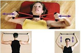 Protoner Home Fitness Rubber <b>Chest Expander</b> - Yoga Resistance ...