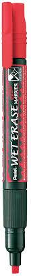 <b>Pentel Маркер</b> меловой <b>Wet Erase Marker</b> Chalk двусторонний ...
