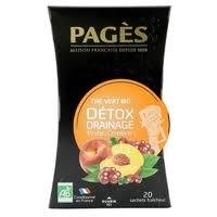 <b>Чай</b> зеленый <b>Pages</b> Détox drainage в пакетиках — <b>Чай</b> — купить ...