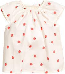 ROZETKA | Блузка H&M 4604315 86 см Белая (2003004019700 ...