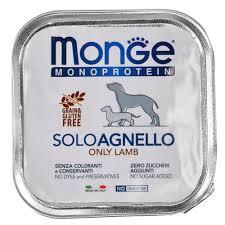Влажный корм <b>Monge Dog Monoproteico</b> Solo <b>консервы</b> для собак ...