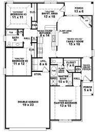 Simple One Story Bedroom House Plans   Home Design Mini s And    Simple One Story Bedroom House Plans Htjvj
