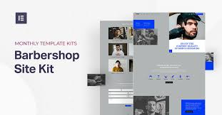 Home - Elementor <b>Barber Shop</b> Kit | Elementor Template Library ...