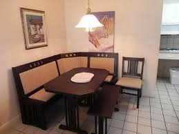 image of breakfast nook with storage benches breakfast furniture sets