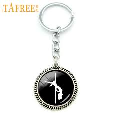 TAFREE <b>men jewelry keychain</b> Vintage accessories pole dance sex ...