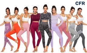 <b>Women's High Waist</b> Workout Vital Seamless Leggings Butt Lift ...