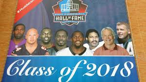 2018 Pro Football Hall of Fame induction: Moss thanks Belichick ...